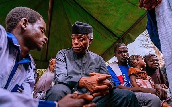 Osinbajo Visits Family Of Late Escort, Promises To Support Widow