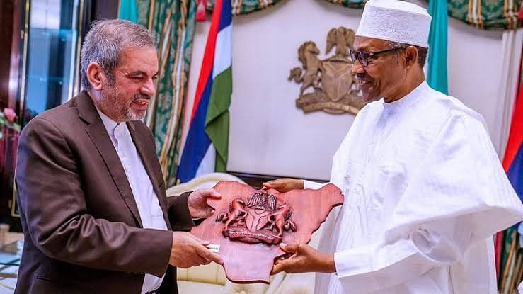 Buhari Meets With Iranian Envoy To Nigeria