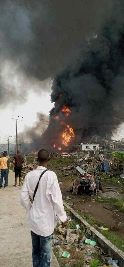 Explosion Rocks Abule Ado In Festac, Scores Injured