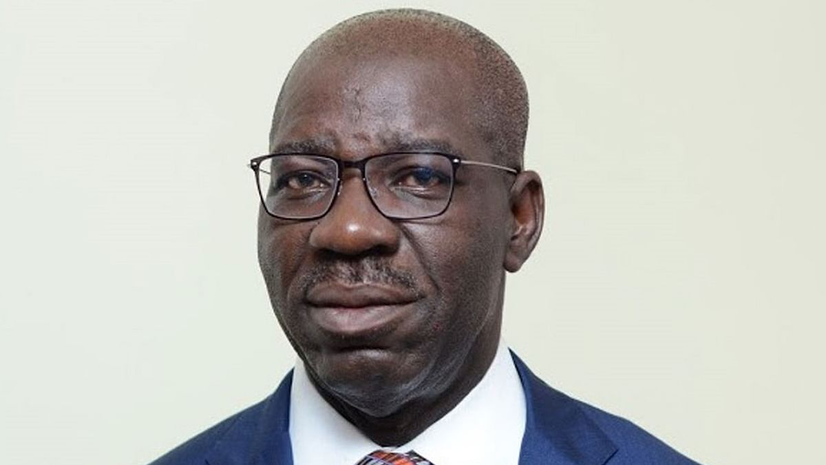 Obaseki In Celebratory Mood Over Oshiomhole's Suspension