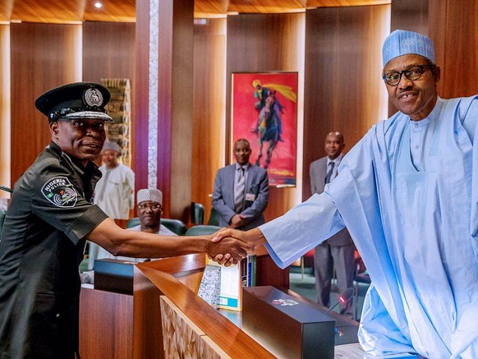 Buhari Sends Hearty Message To IGP's Son As He Weds Heartthrob