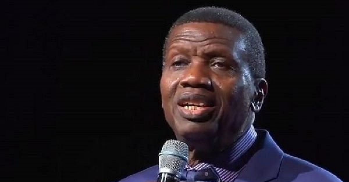 """The Pandemic Will Soon End,"" Pastor Adeboye Says"