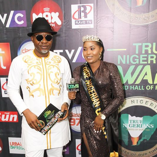 See Photos From The True Nigerians Awards 2020