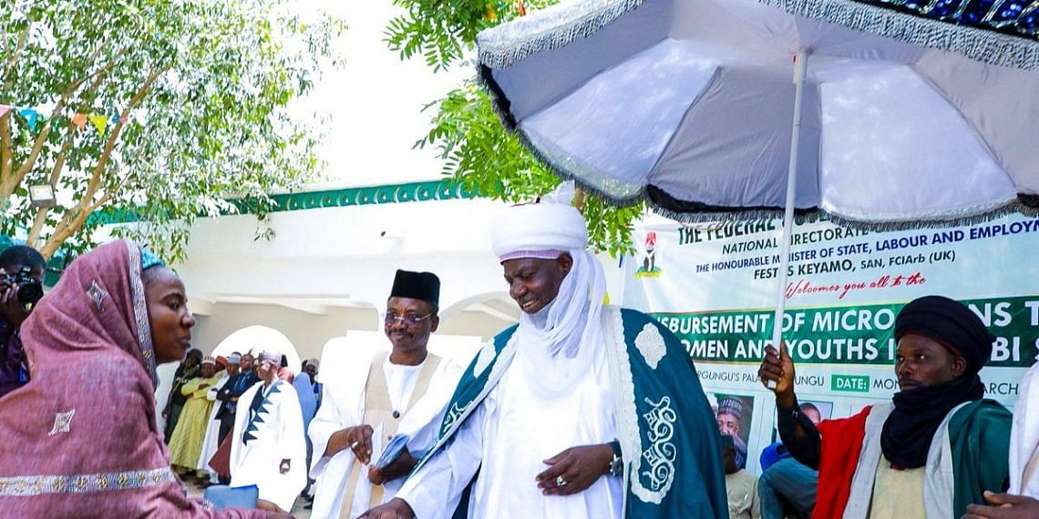Governor Bagudu Empowers 1,500 Women And Youths With Micro-Loans
