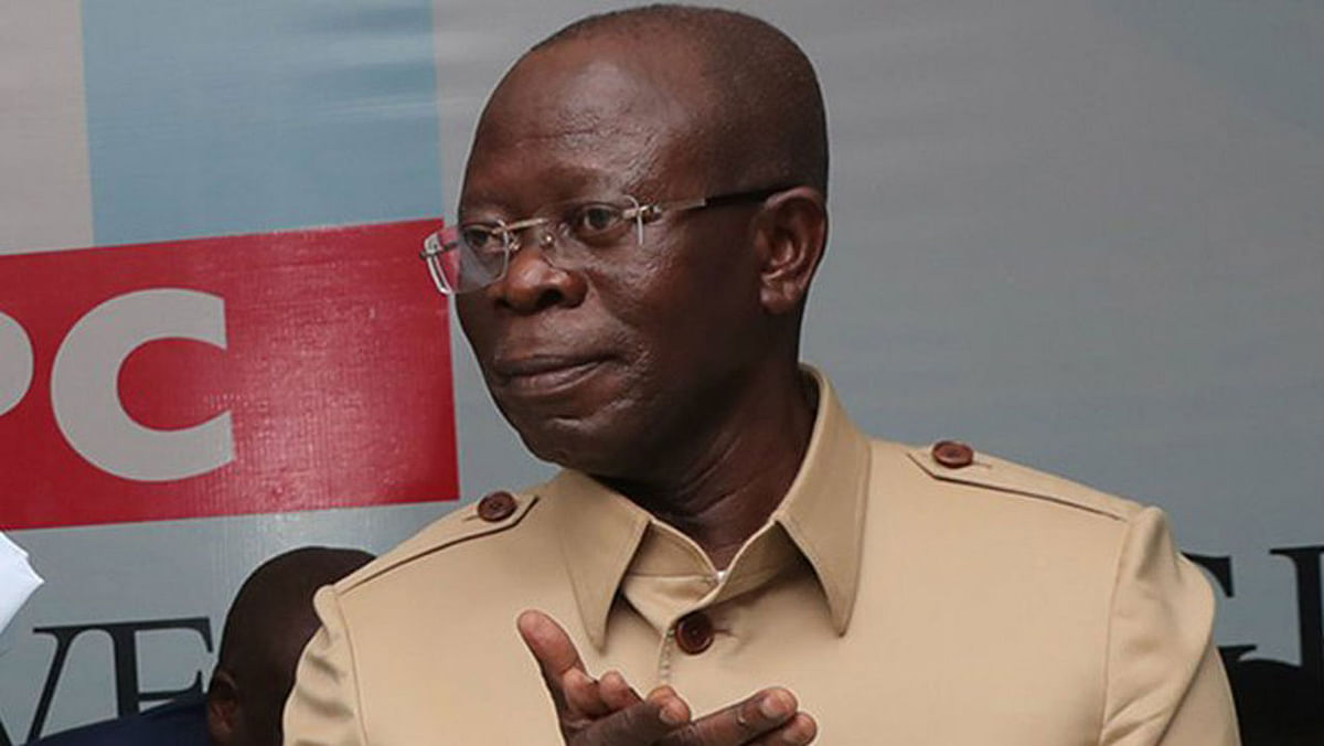 """Nobody Can Bring Me Down,"" Oshiomhole Says"