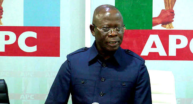 Groups Endorse Oshiomole, Vow To Back His Leadership