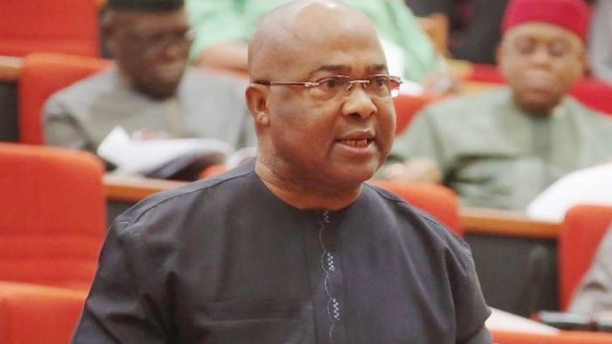 Angry Imo Youths Invade Government House, Call Uzodinma A Thief