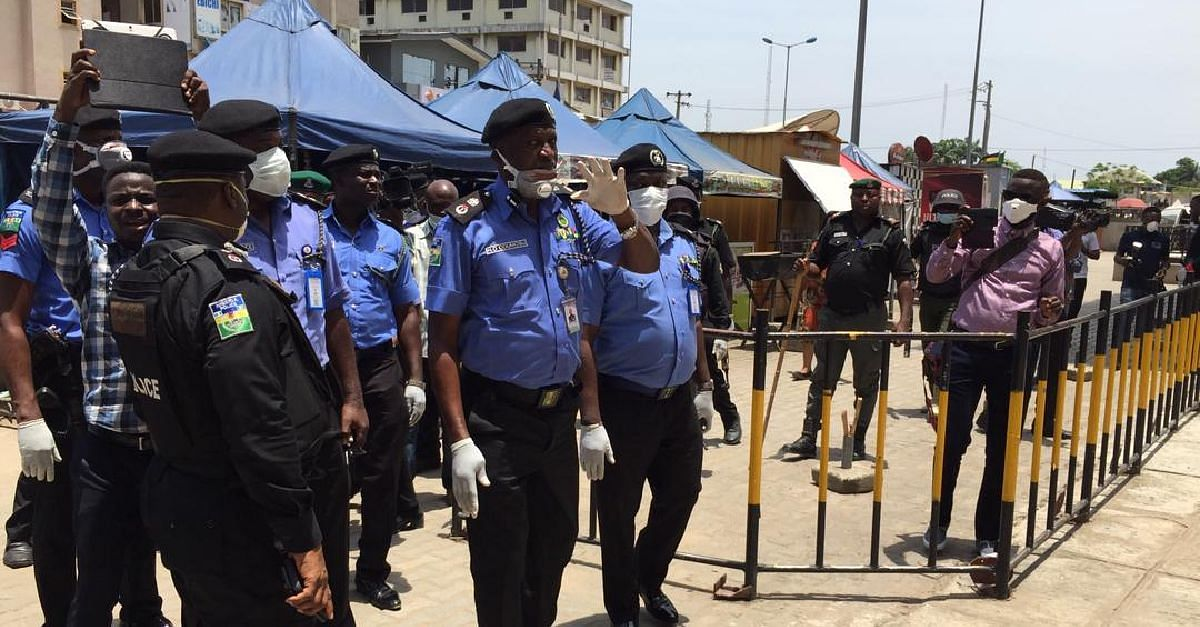 COVID-19: CP Odumosu Checks Level Of Compliance By Markets, Others In Lagos