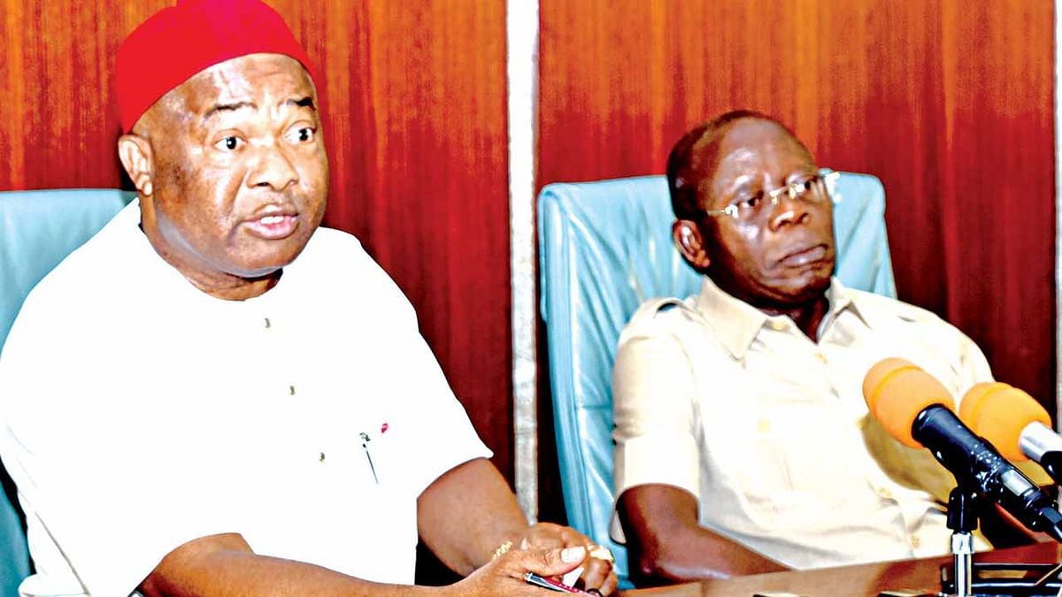 """Plot To Oust Oshiomhole Will Fail,"" Says Uzodinma"
