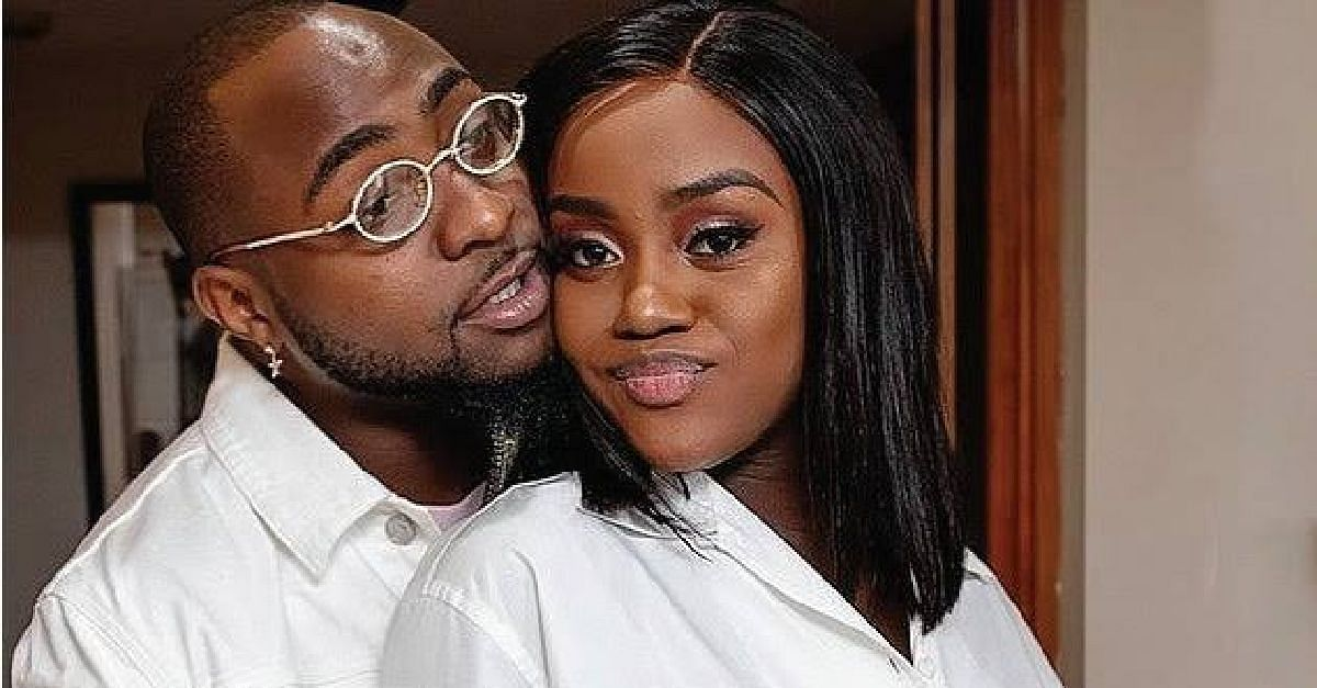 Davido's Fiancee, Chioma, Tests Positive For Coronavirus