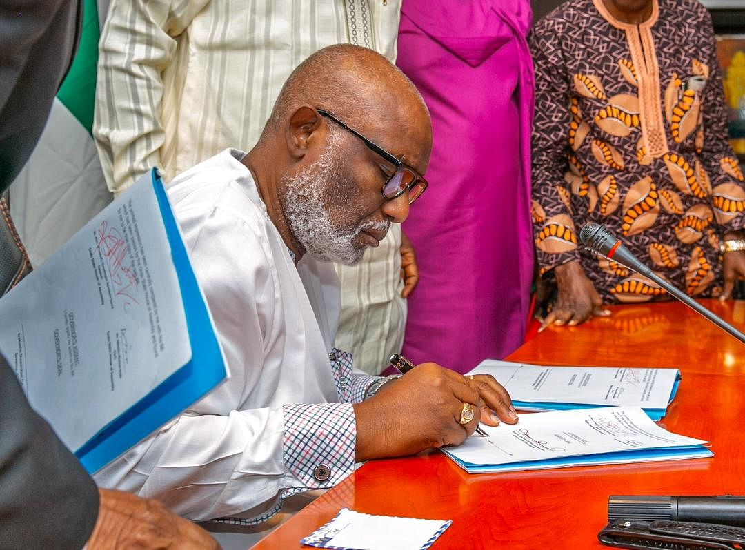 Amotekun Recruitment: Arrangements Have Been Finalised - Akeredolu