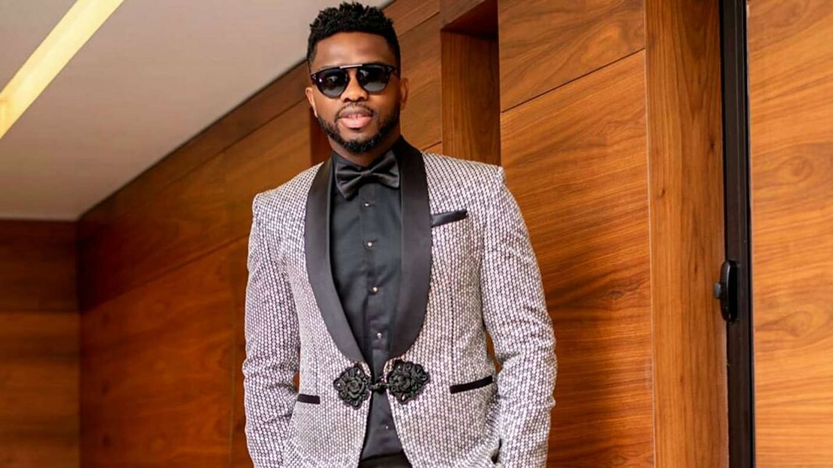 How Nigeria's Assistant Coach, Joseph Yobo, Dazzled To The AMVCA