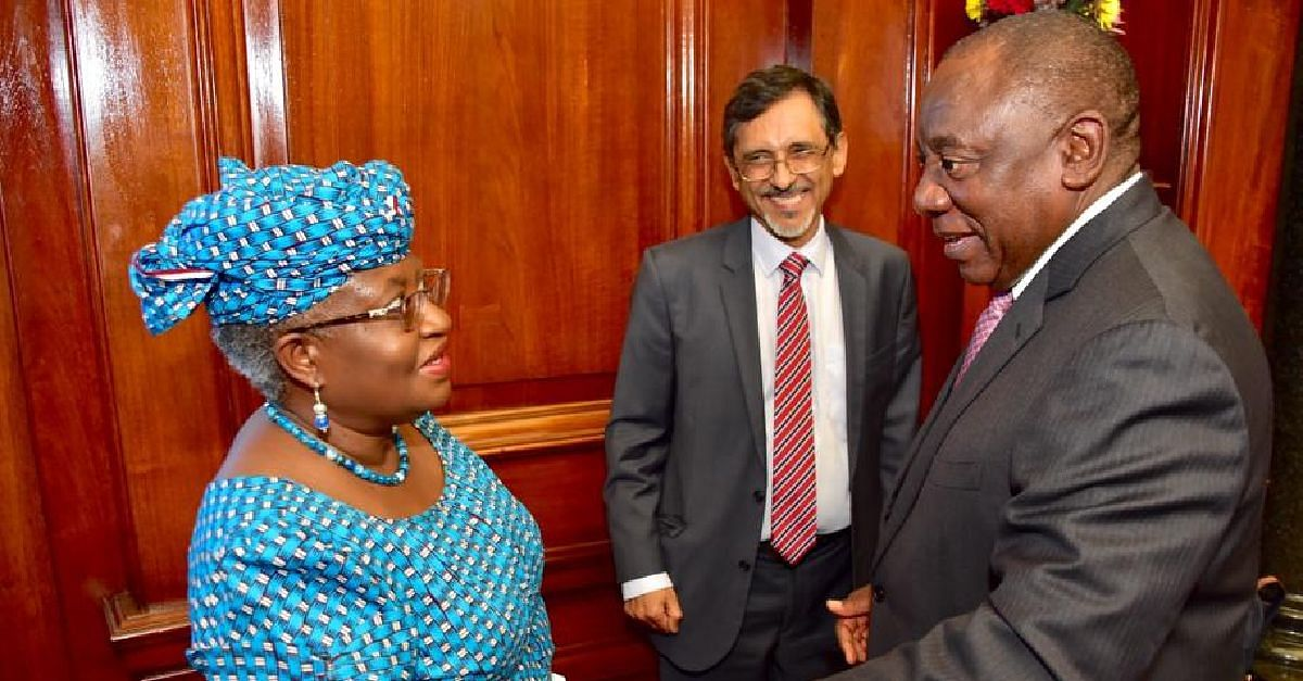 Jonathan Lauds Iweala's Appointment As Member Of South African PEAC