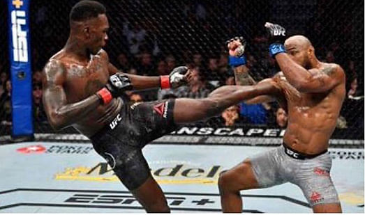 UFC Fighter, Israel Adesanya, Retains Middleweight Champion Belt
