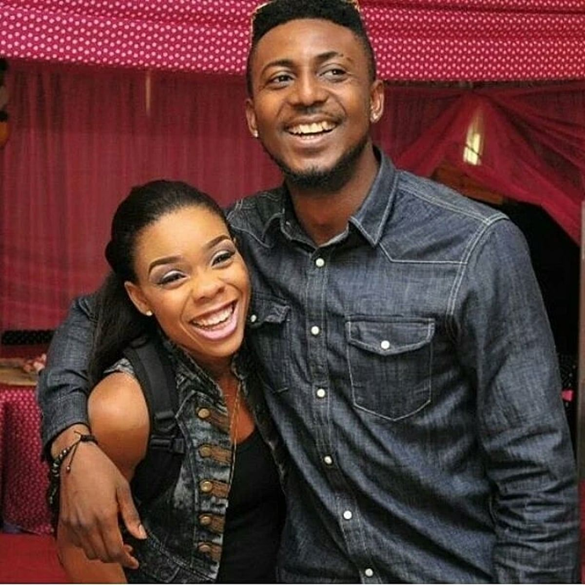 Kaffy and Joseph Ameh