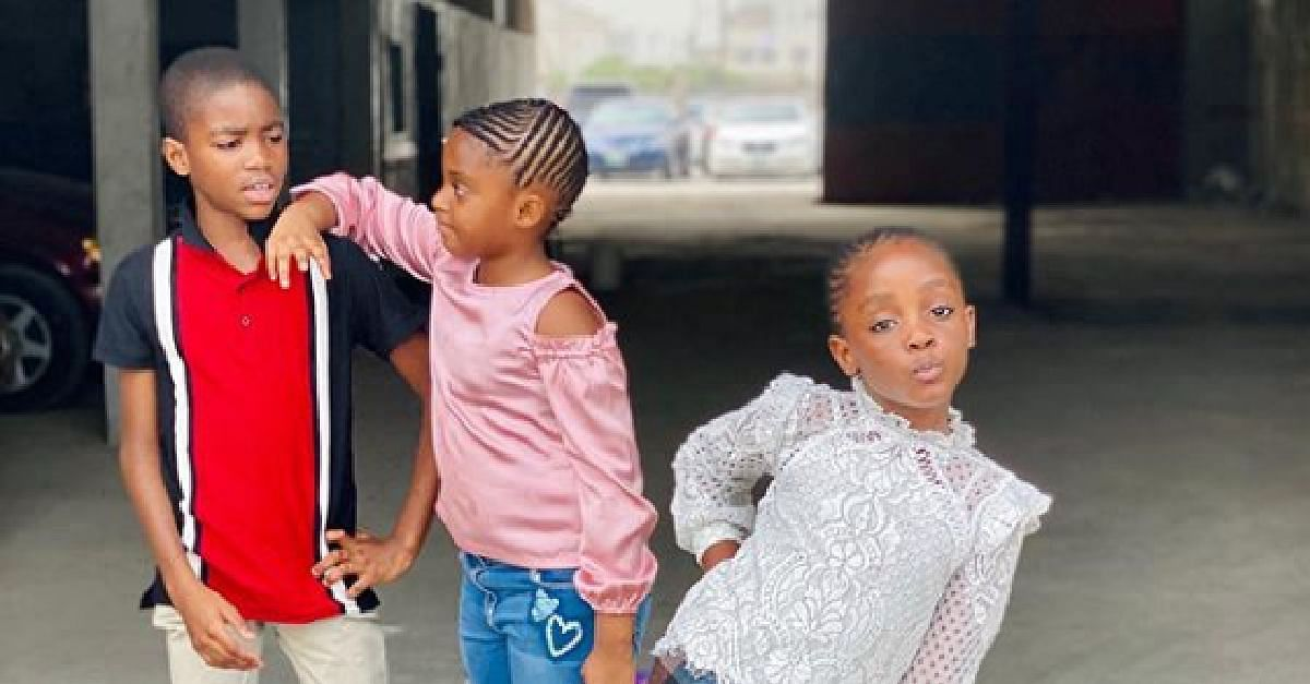 Too Cute! These Photos Of Nigerian Celebrity Kids Will Melt Your Heart