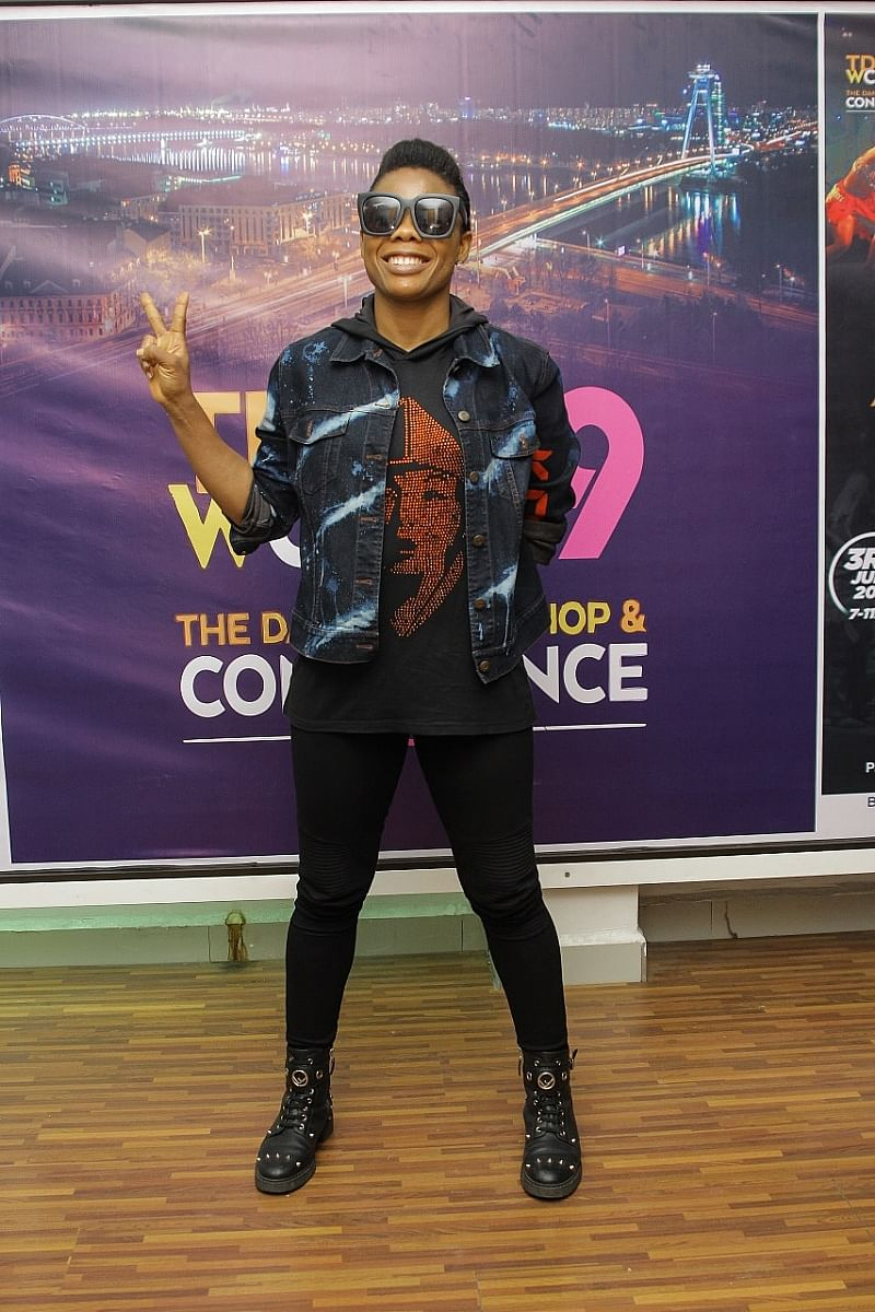 Kaffy at the Dance Workshop and Conference