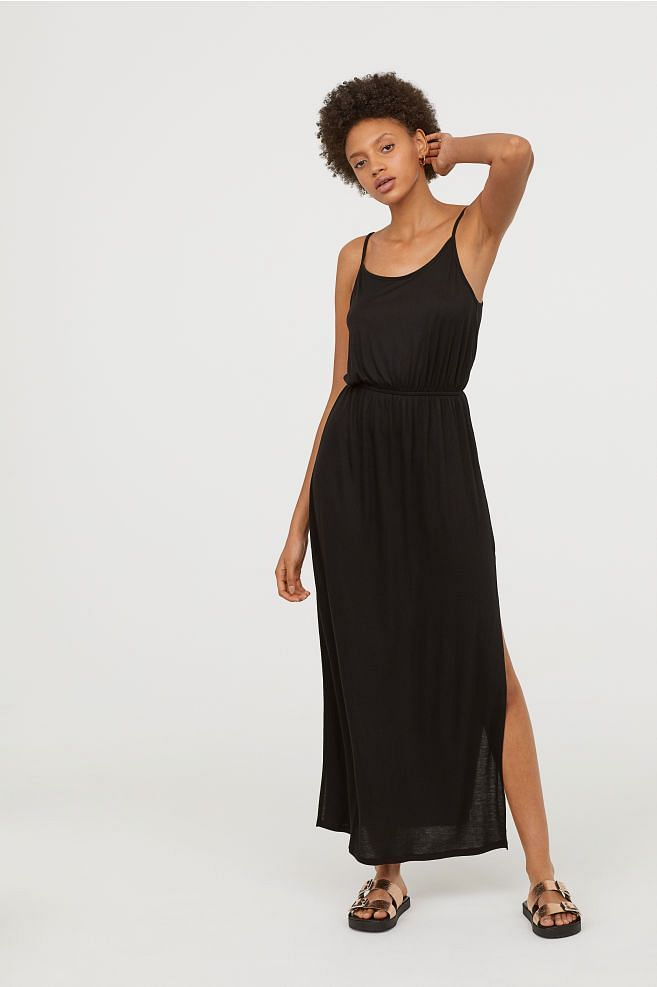 Maxi dresses are easy to wear