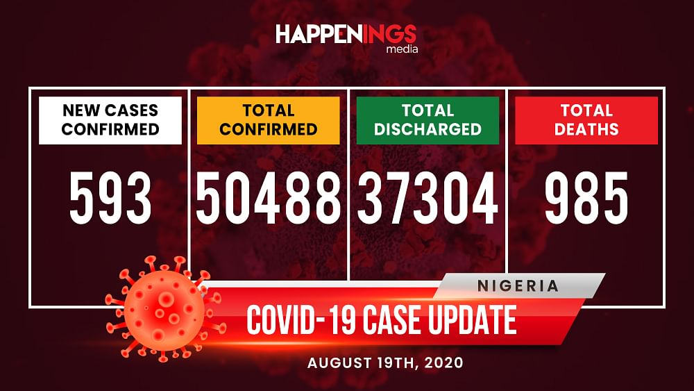 COVID-19 Case Update: 593 New Cases, Total Now 50,488