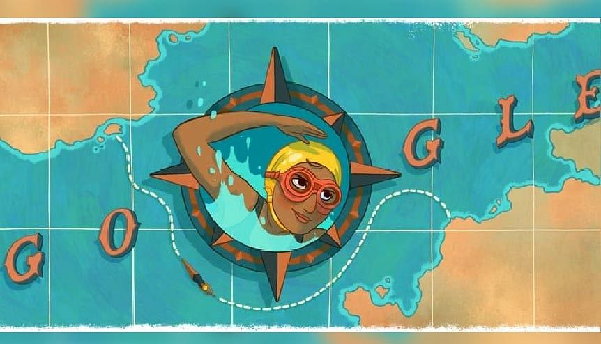 Google Doodle celebrates Indian swimmer Arati Saha's English Channel feat
