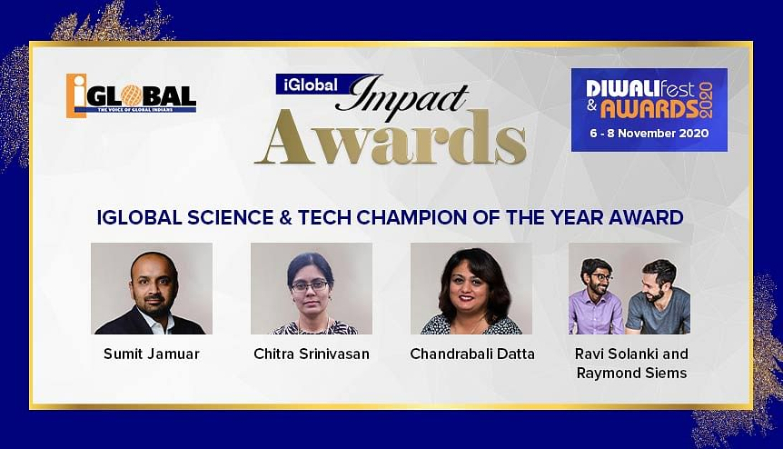 iGlobal Impact Awards: This Global Indian champion has been working hard on a Covid-19 vaccine