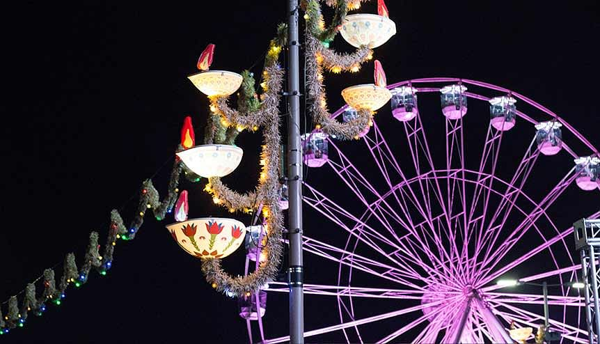 #InspireTogether: Leicester takes famous Diwali lights virtual
