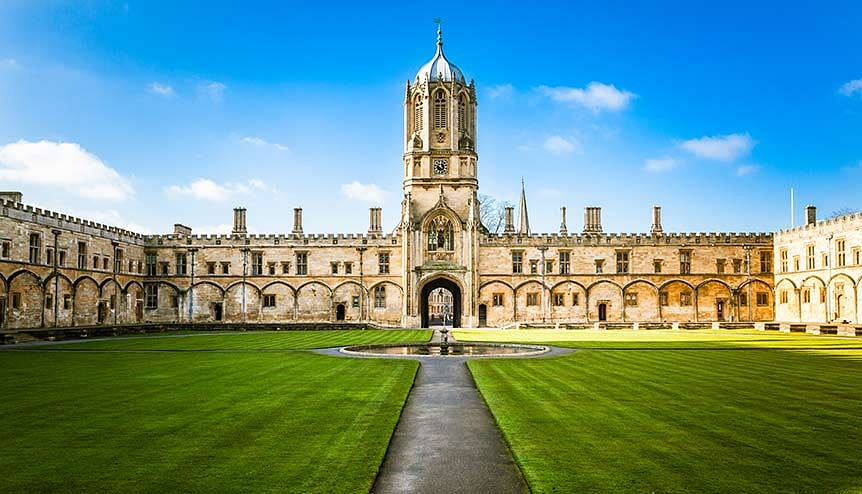 Global Indian student in meat-free campus drive at Oxford University