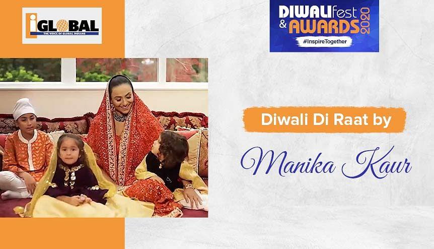 Singer-philanthropist Manika Kaur's ode to Diwali night