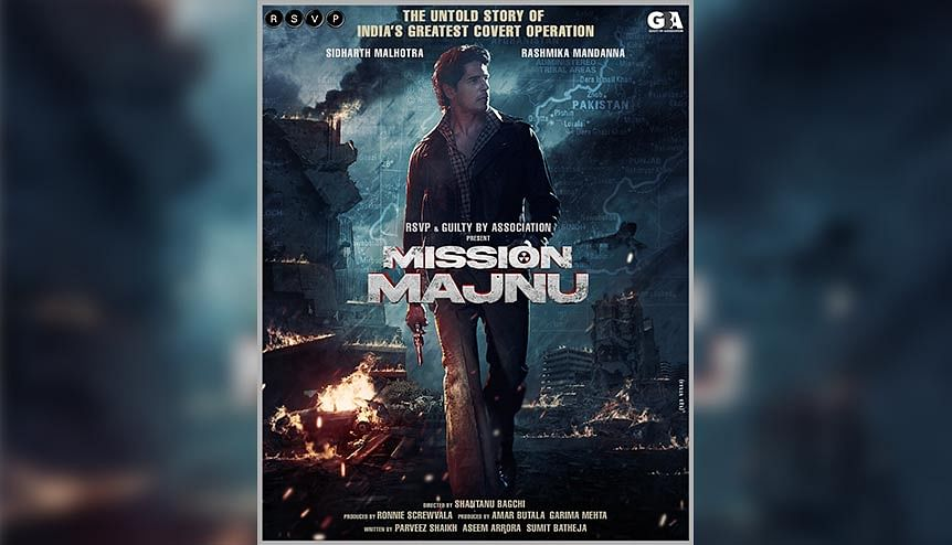 Real-life inspired espionage thriller 'Mission Majnu' set for 2021 shoot