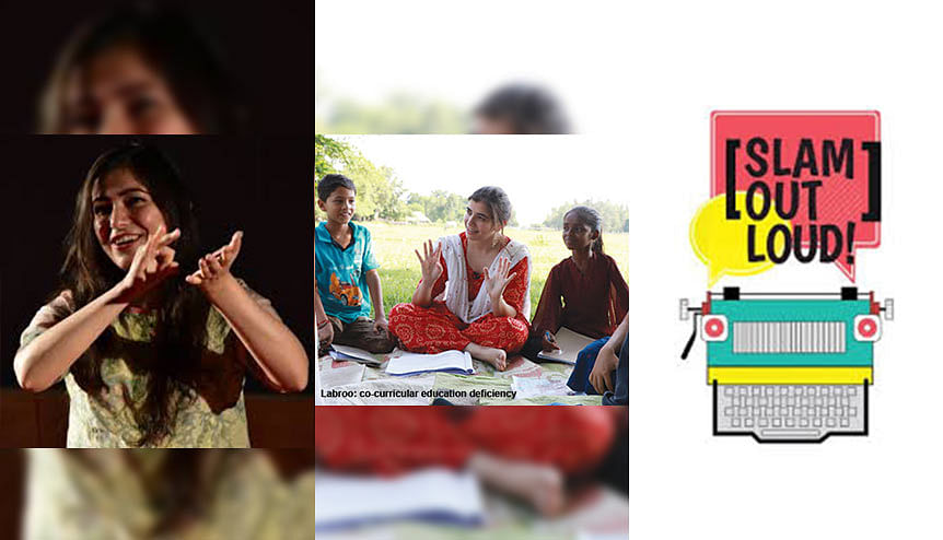 Slam Out Loud: The power of art that transforms children's lives in India and beyond