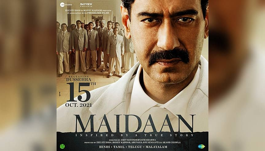 Ajay Devgn's sports drama 'Maidaan' back in action from Jan. 2021