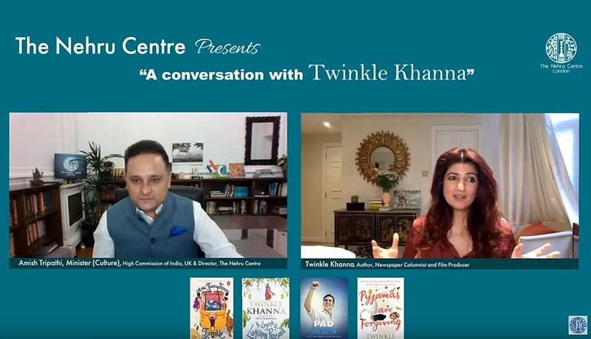 Indian author-filmmaker Twinkle Khanna shares some of her creative secrets