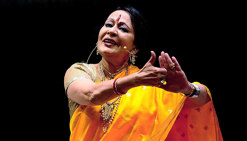 Unlock the Music: Dr Sonal Mansingh set for a special virtual dance gala