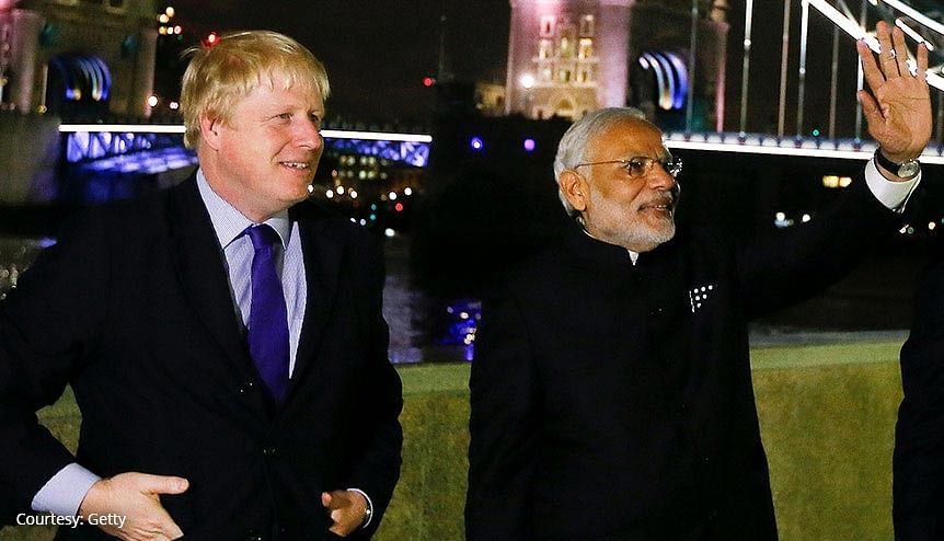 UK PM Boris Johnson to ring in 2021 with visit to India