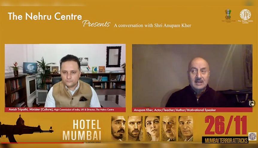 From Left: Taj London's Mehrnavaz Avari, Virat Kohli, Ravi Shastri, IHCL MD & CEO Puneet Chhatwal