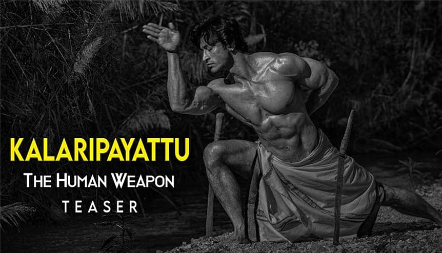 Action star Vidyut Jammwal shows off his skills with deadly weapon Urumi