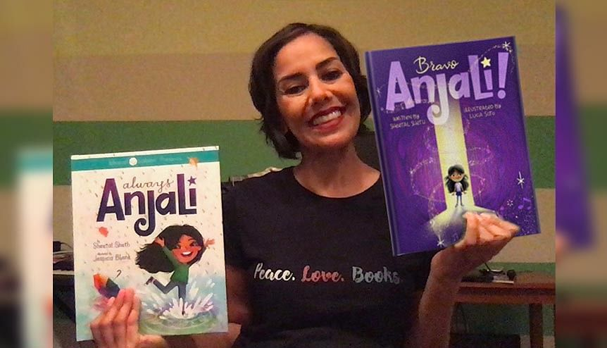 Actress Sheetal Sheth on her vision for the Anjali books for Global Indian children