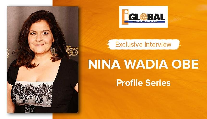 Grab an icepick, start climbing the ladder: Nina Wadia on breaking through & giving back to society
