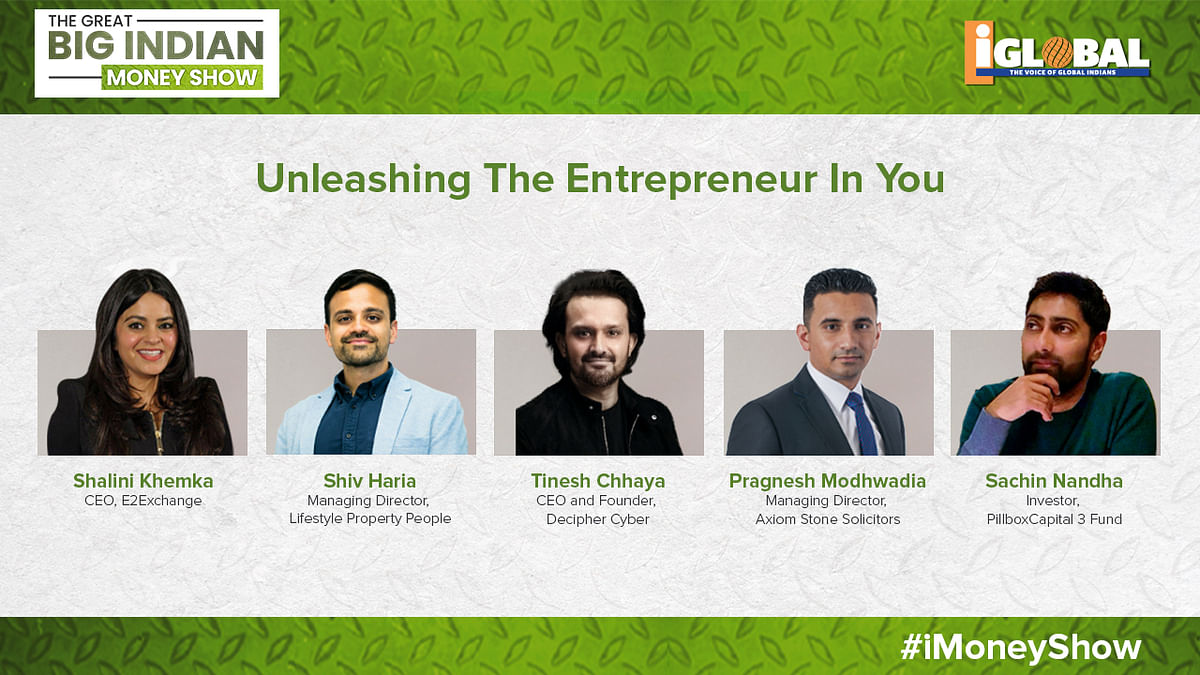 Unleashing the entrepreneur in you