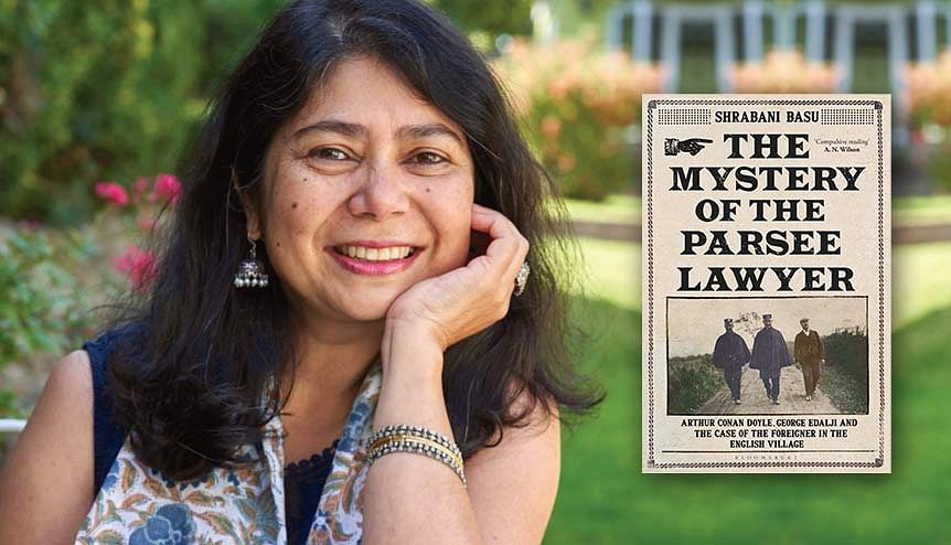 British Indian author unearths a Sherlock Holmes mystery with a very real twist