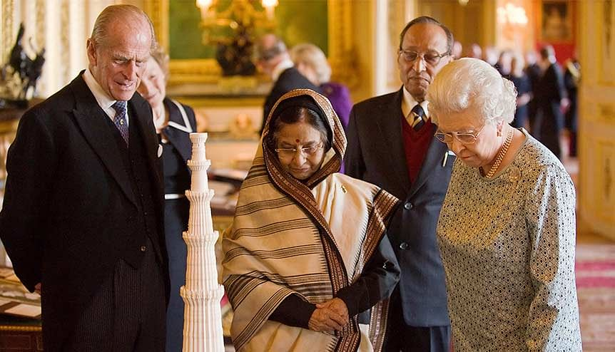 Indian PM Narendra Modi leads tributes to the Duke of Edinburgh