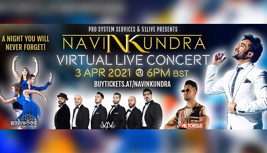Saturday Night Live: Navin Kundra celebrates year of virtual concerts