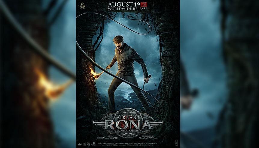 Kannada star Kichcha Sudeepa's 'Vikrant Rona' set for August release