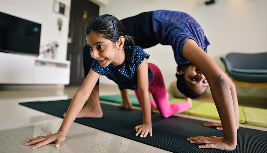 Does exercise and healthy diet in childhood have a lifelong impact?