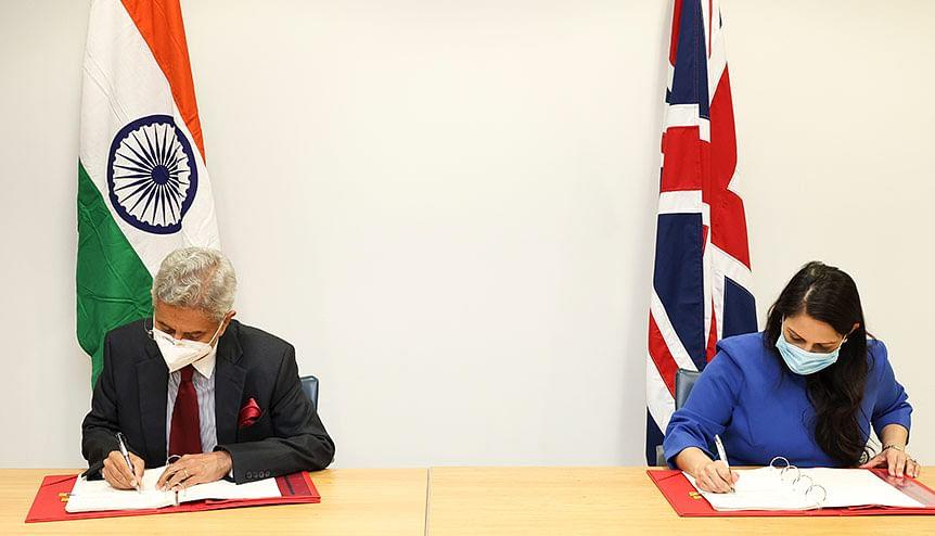Priti Patel, Jaishankar sign off groundbreaking UK-India youth mobility deal