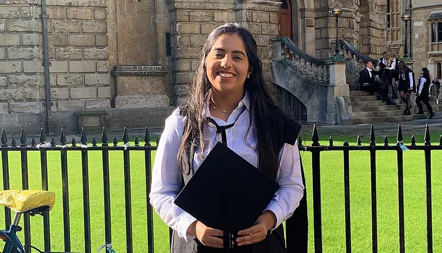 I will fight for student rights, vows Oxford SU President-Elect Anvee Bhutani