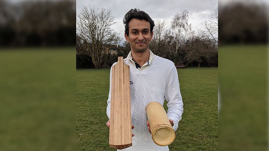 Howzat? Bamboo bats hit the sweet-spot for Dr Darshil Shah of Cambridge University