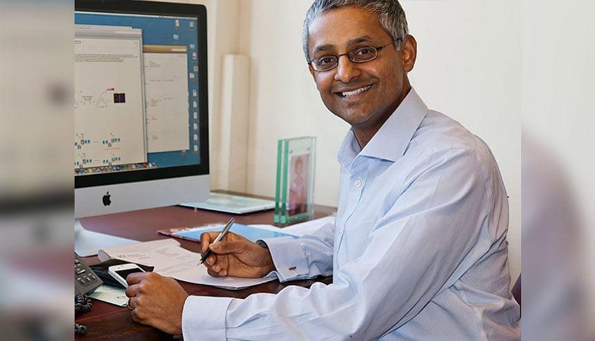 Cambridge University's Sir Shankar Balasubramanian in winning DNA sequencing team