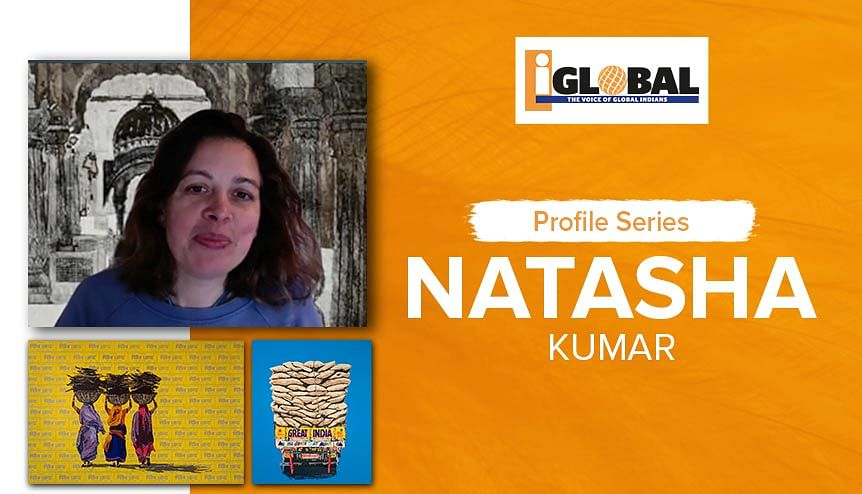 For Natasha Kumar, art connected with India is in her DNA