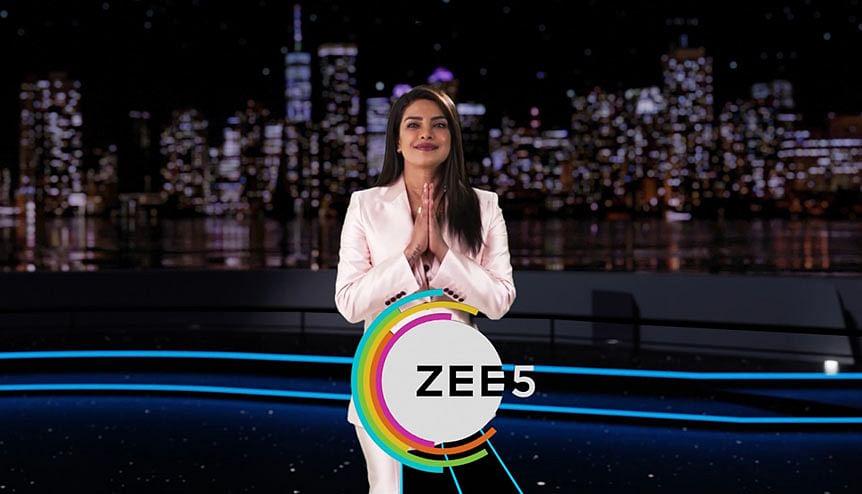 Priyanka Chopra Jonas heads up ZEE5 mega launch in US